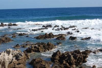 The sea at Cala Ratjada