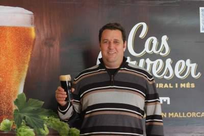 Sebastián at Cas Cerveser