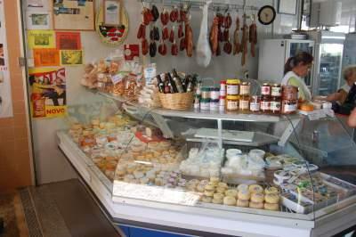Portuguese market shop