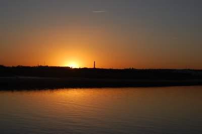 Sunset from Tavira Island
